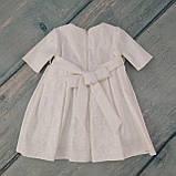 Торжественное платье для девочки на годик, р. 80, фото 2