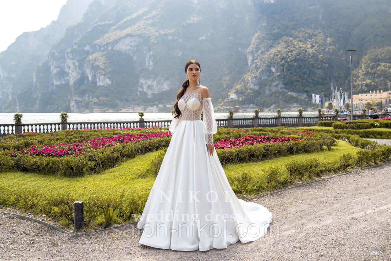 Весільна сукня № V506