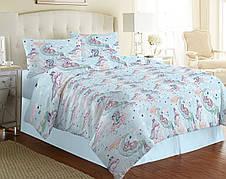 Ткань для постельного белья Бязь Gold Lux D42N8 Bluе 50м