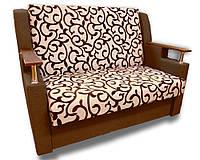Диван раскладной Марта (Вензель коричневый). Детский диван с нишей для белья