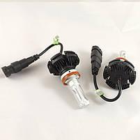LED Лампы X3 Philips 50W (H11) (ЛЭД автолампы с активным охлаждением и ip67)+ПОДАРОК!, фото 3