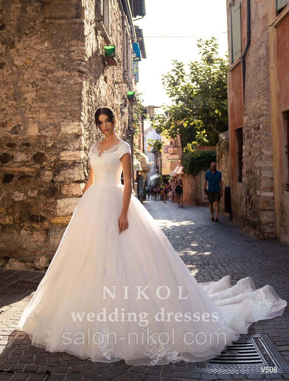 Свадебное платье № V508