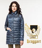 Воздуховик Braggart Angel's Fluff 41323 | Женская весенне-осенняя куртка темная лазурь