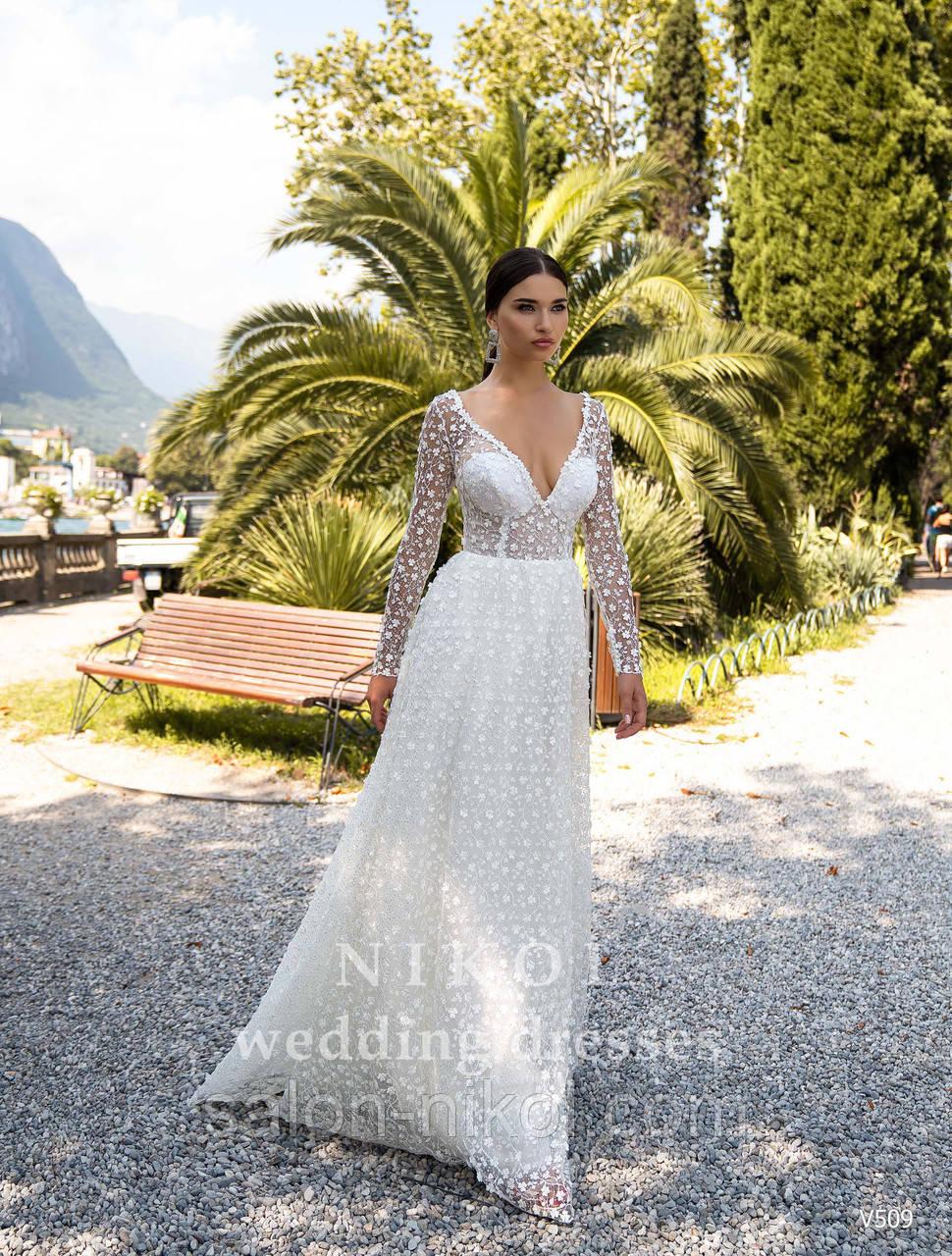 Свадебное платье № V509