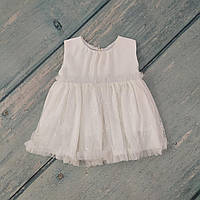 Праздничное платье для новорожденного, р. 68