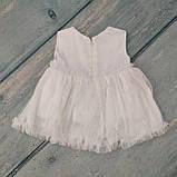 Праздничное платье для новорожденного, р. 68, фото 2