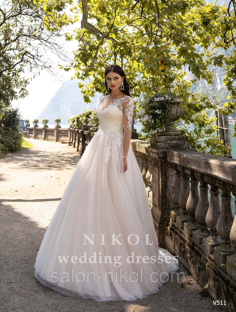 Свадебное платье № V511