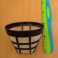 Сетка фильтр многоразовый (универсальный) № 4 для капельной кофеварки Philips, Bosch, Moulinex, Vitek, Saturn