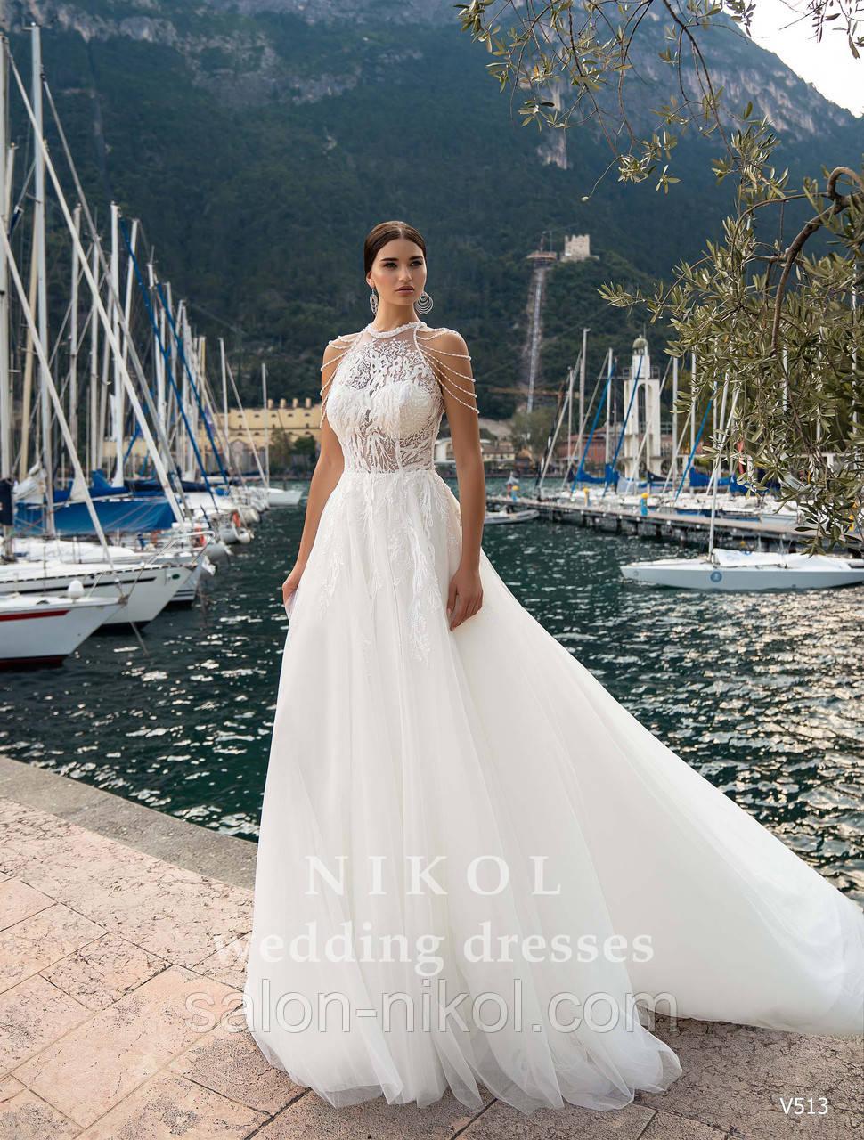 Свадебное платье № V513