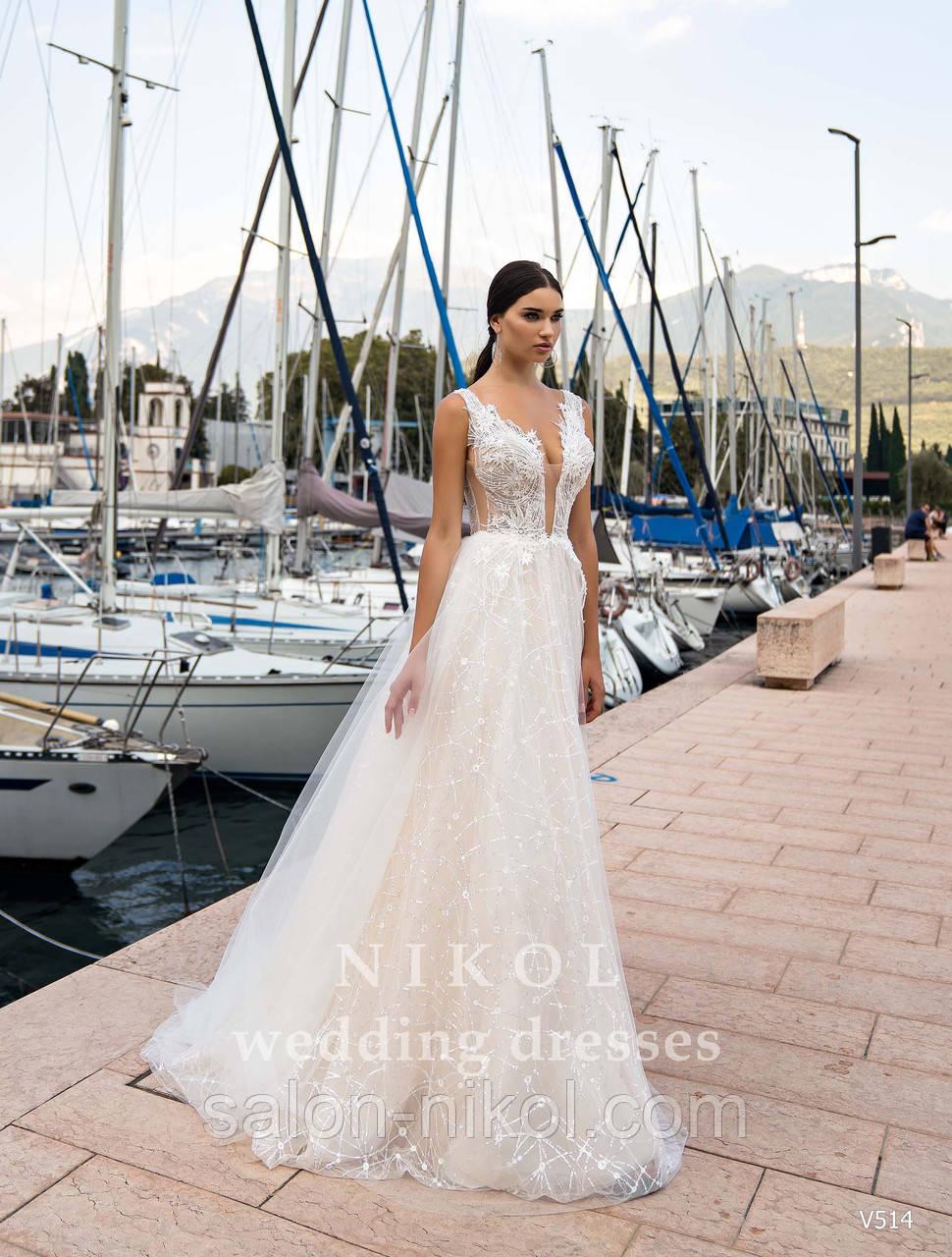 Свадебное платье № V514