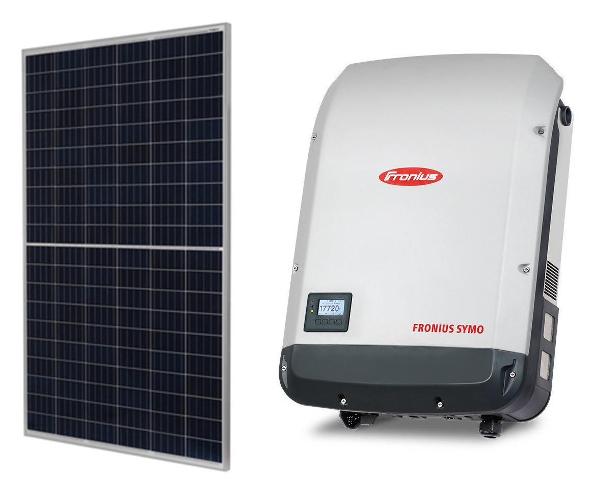 Комплект обладнання для сонячної електростанції 15 кВт (54 ФЕМ JA Solar JAP60S10 285/SC + інвертор Fronius SYMO 15.0-3-M)