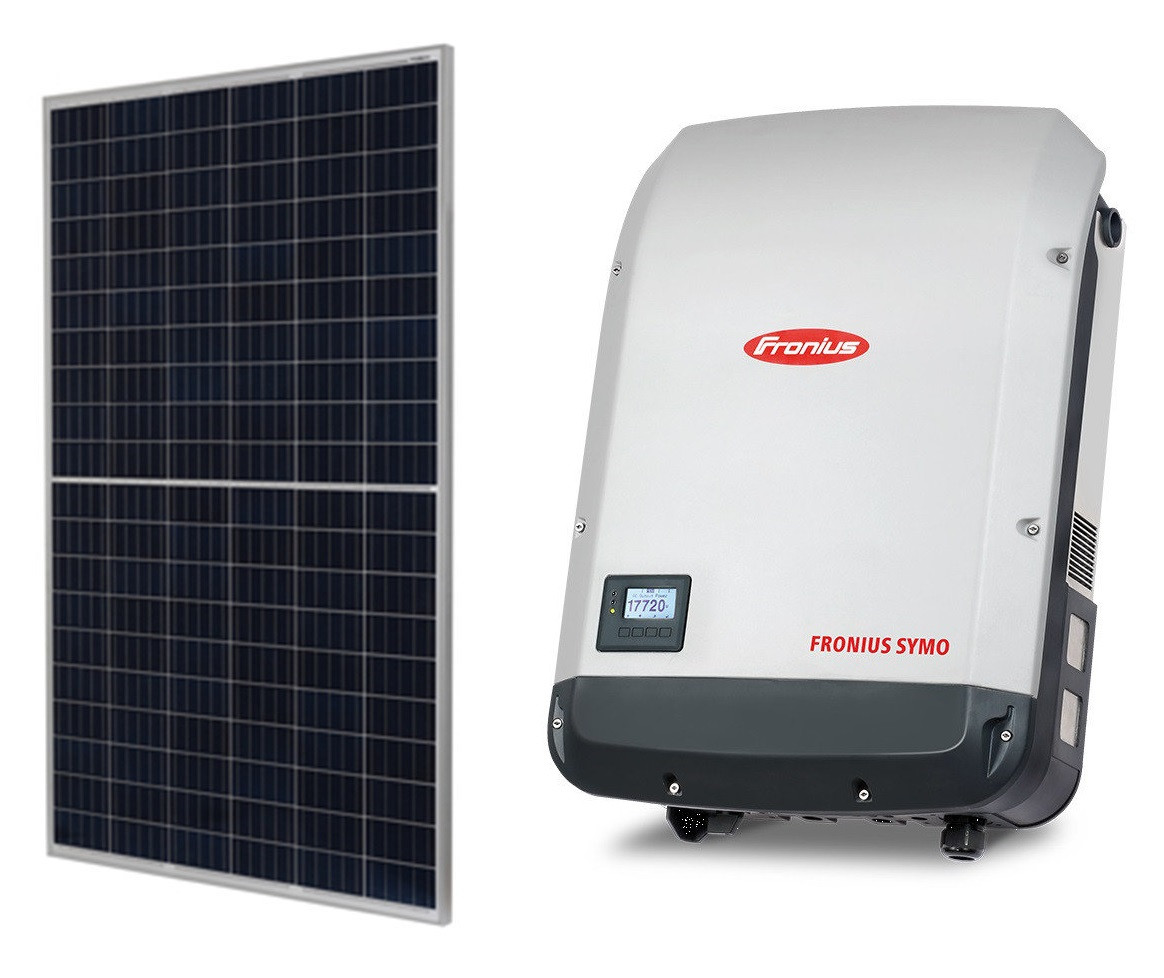 Комплект обладнання для сонячної електростанції 20 кВт (71 ФЕМ JA Solar JAP60S10 285/SC + інвертор Fronius SYMO 20.0-3-M)