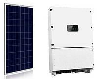 Комплект обладнання для сонячної електростанції 30 кВт (111 ФЕМ JA Solar JAP6-60 270Wp + інвертор Huawei SUN2000-33KTL-A)