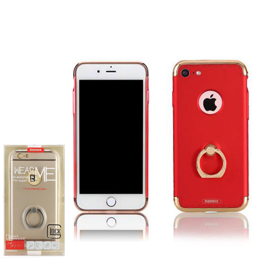 Чехол Remax Lock with Ring iPhone 7  Red