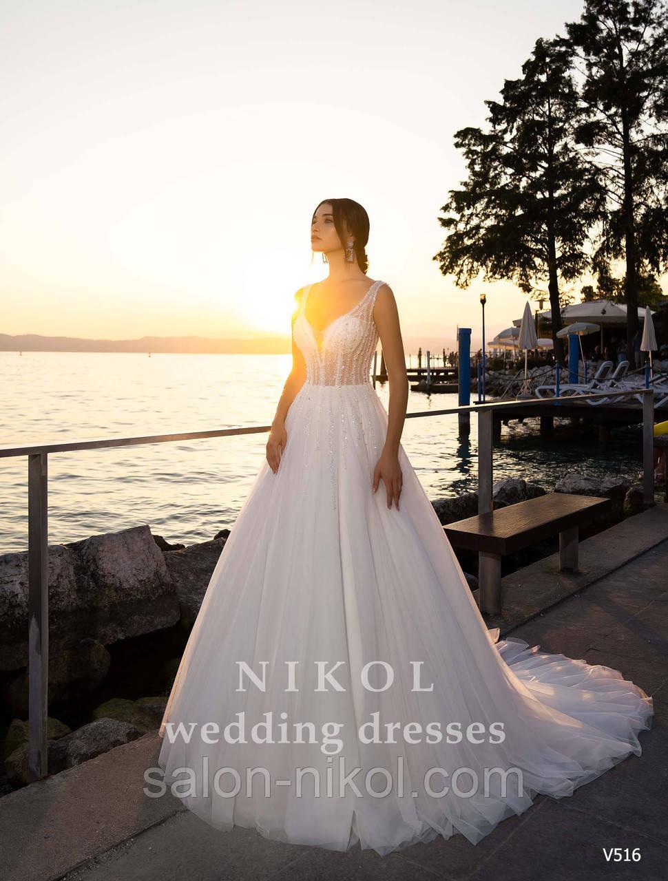 Свадебное платье № V516