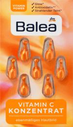 Сыворотка-концентрат для сияния  лица  Balea  Konzentrat Vitamin C 7 St