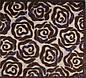 """Акриловый рельефный ковер Amada """"Розы коричневые"""", фото 6"""