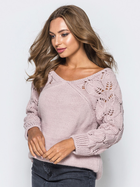 Женские свитера и кофточки .