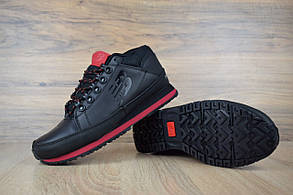 Ботинки New Balance 754 мужские, черный/красный, в стиле Нью Баланс 754, кожа, код OD-1868