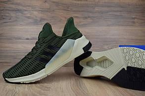 Кроссовки мужские в стиле Adidas Climacool код товара OD-1446. Зеленые