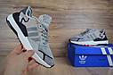 Кроссовки мужские Adidas Nite Jogger в стиле Адидас Найт Джугер, замша, текстиль код OD-1714. Серые, фото 6