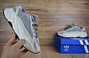 Кроссовки мужские Adidas Yeezy Boost 700 в стиле Адидас Изи Буст,натуральная кожа, текстиль код OD-1667. Серые, фото 2