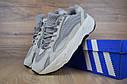 Кроссовки мужские Adidas Yeezy Boost 700 в стиле Адидас Изи Буст,натуральная кожа, текстиль код OD-1667. Серые, фото 3