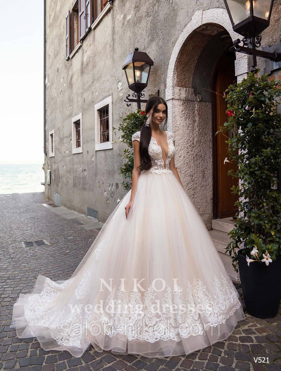 Свадебное платье № V521