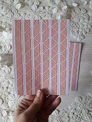 Уголки самоклеющиеся для фото, уголки розовые, розовые уголки, уголки для фото, пластина 78 шт