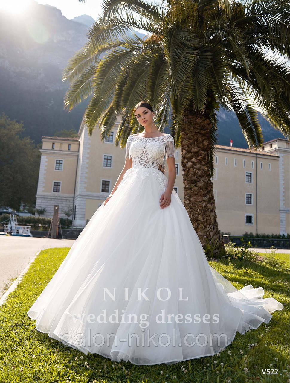 Свадебное платье № V522