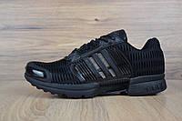 Кроссовки мужские в стиле Adidas ClimaCool в стиле Адидас Климакул, текстиль, текстиль код OD-1736. Черные
