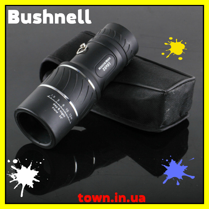 Монокуляр Bushnell надпотужний компактний легкий 16x52