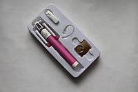 Монопод для селфи X20 + bluetooth-гарнитура + кольцо-держатель розовый