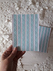 Уголки самоклеющиеся для фото, уголки голубые, голубые уголки, уголки для фото, пластина 78 шт