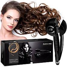 Плойка для завивки волос автоматическая Hair machine Babyliss pro, стайлер, щипцы для завивки волос, фото 3