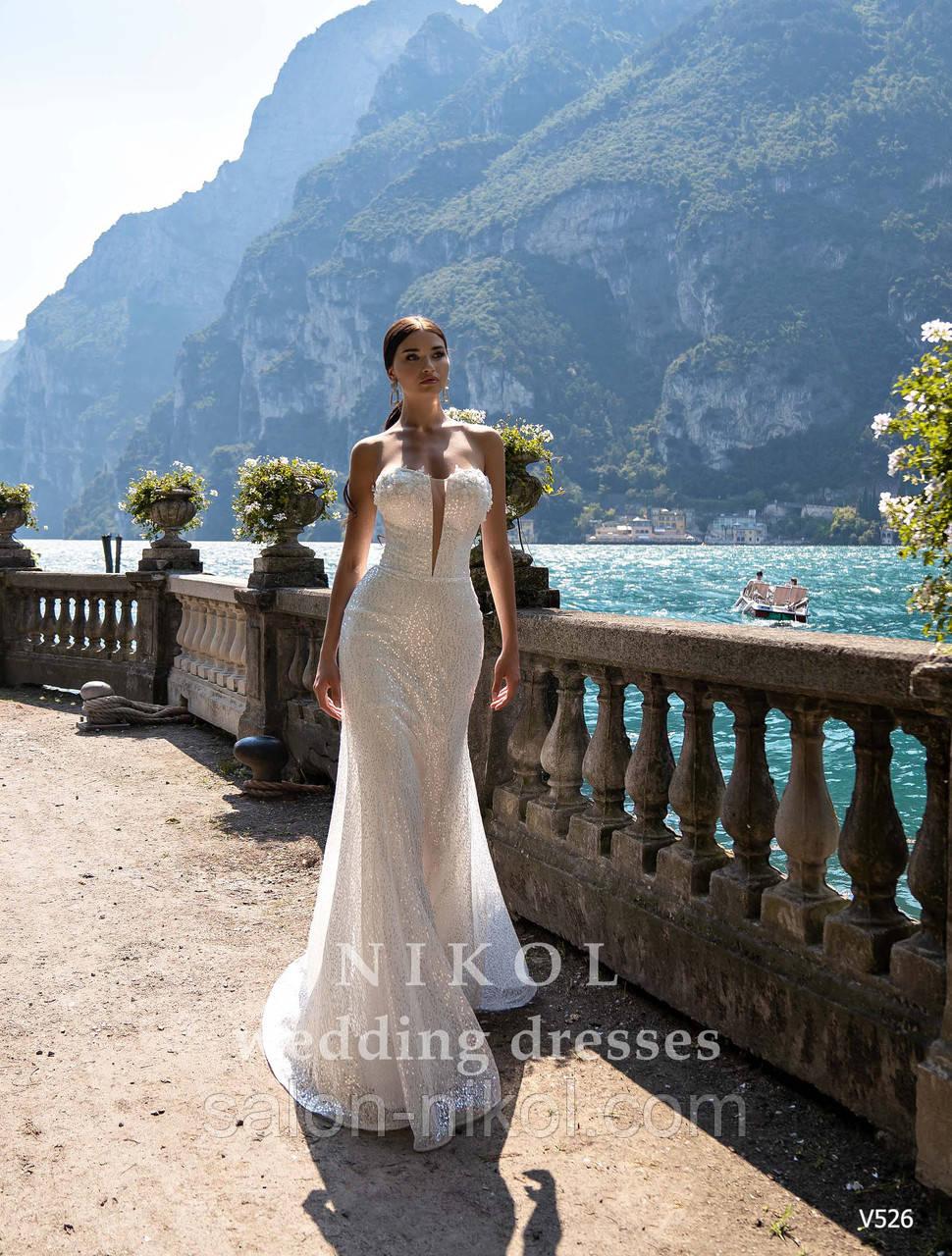 Свадебное платье № V526