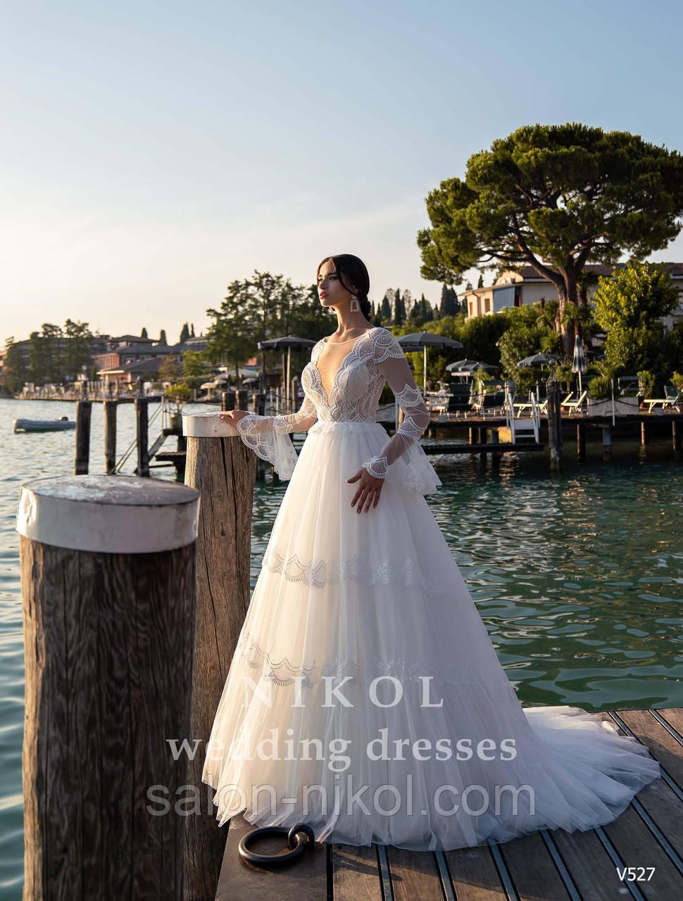 Свадебное платье № V527