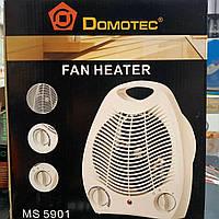 Тепловентилятор Domotec MS 5901 обогреватель, дуйчик.