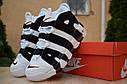 Кроссовки Nike Air More Uptempo женские, белые, в стиле Найк АирМорАптемпо, код OD-2863, фото 7