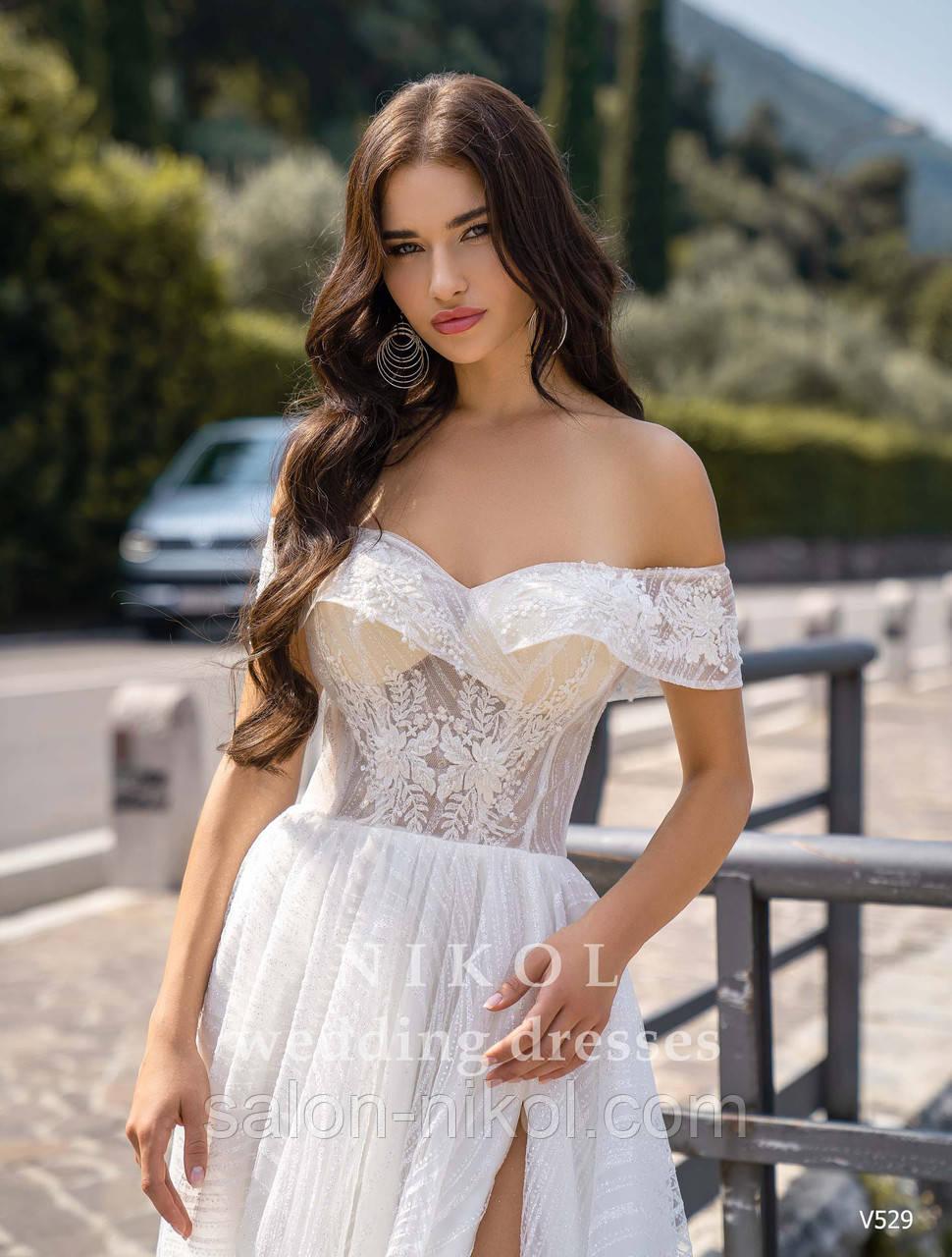 Свадебное платье № V529