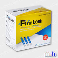 Тест-полоски Finetest Premium (файнтест премиум) 50 штук, Южная Корея