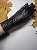 Перчатки женские натуральная кожа на кролике (w-kozha-krolik)