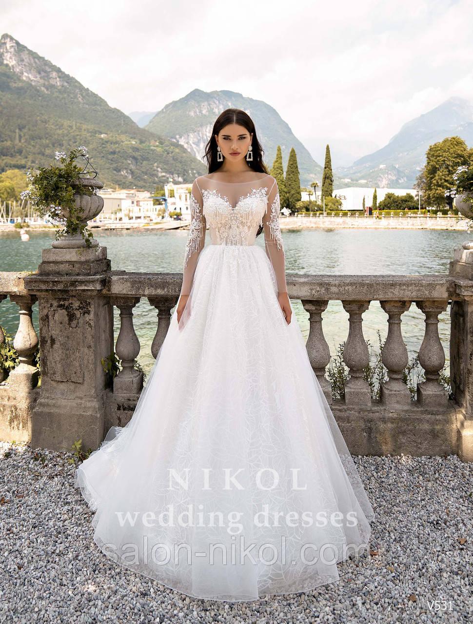 Свадебное платье № V531