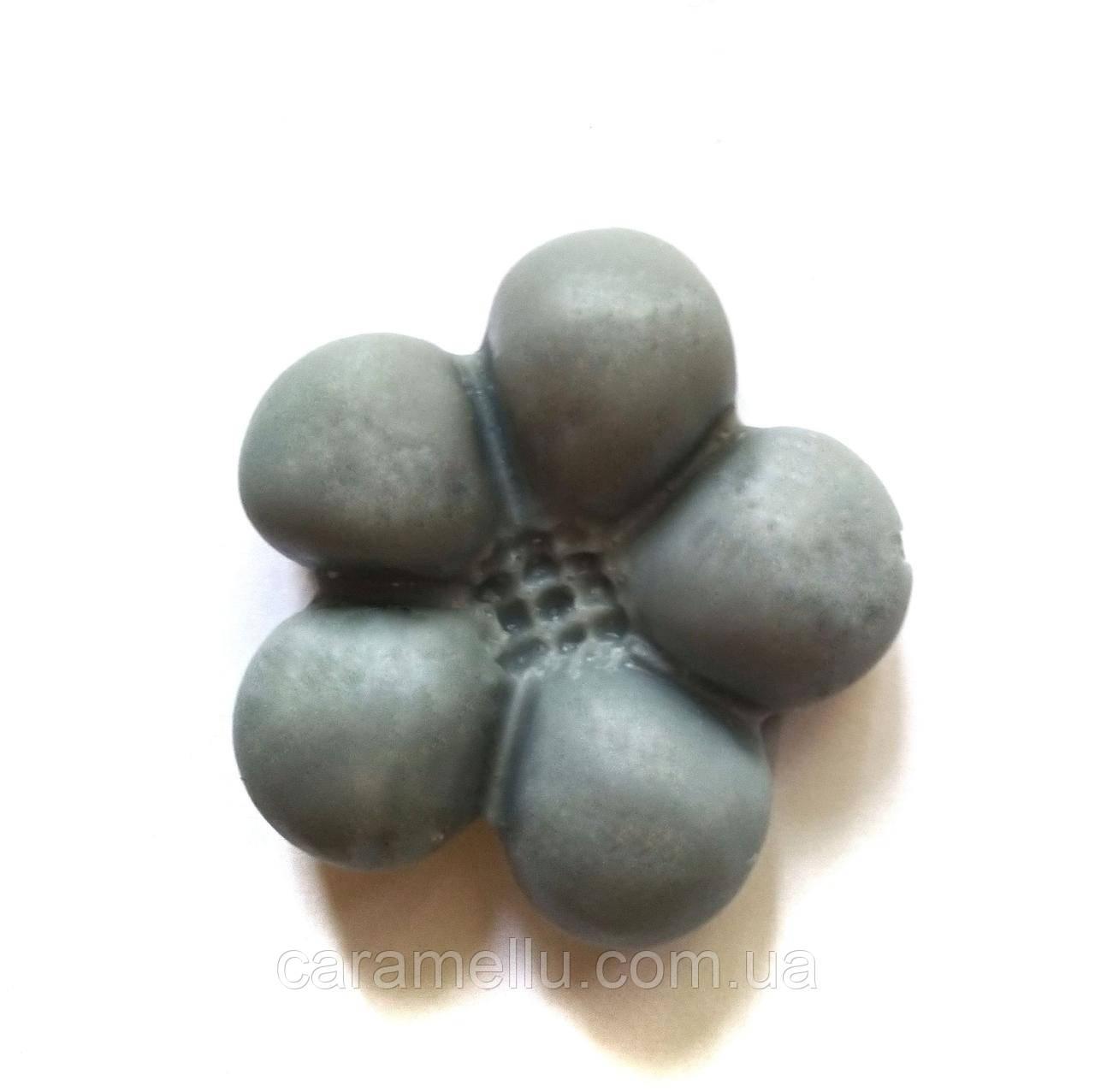Молд Пятилистник 4,5х4,5 см