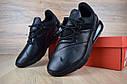 Кроссовки мужские в стиле Nike Air Max 270, натуральная кожа, текстиль код OD-1588. Черные, фото 8