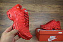 Кроссовки женские в стиле Nike TN Plus, сетка, текстиль код OD-2642. Красные, фото 2