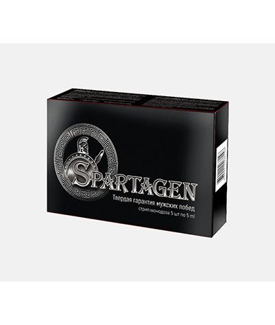 Spartagen - Капсули для підвищення потенції (Спартаген), Підвищує активність сперматозоїдів