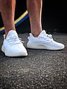 Кроссовки Adidas Yeezy Boost 350 мужские, в стиле Адидас Изи Буст. Текстиль, код Z-1809. Белые, фото 6