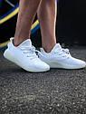 Кроссовки Adidas Yeezy Boost 350 мужские, в стиле Адидас Изи Буст. Текстиль, код Z-1809. Белые, фото 7