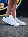 Кроссовки Adidas Stan Smith женские, в стиле Адидас Стен Смит. Натуральная кожа. код Z-1557. Белые, фото 5